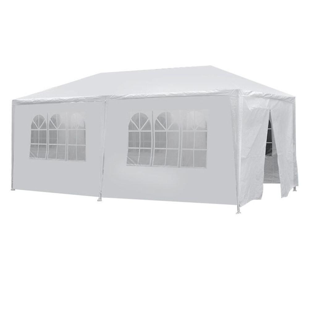 3x6 méteres party sátor, fehér színű