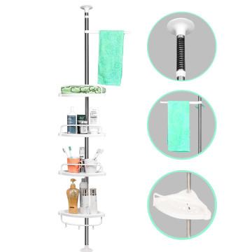 Teleszkópos fürdőszoba polc, 15 kg-os teherbírással