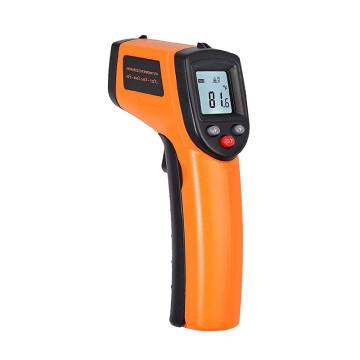Infravörös érintésmentes hőmérő, digitális kijelzővel