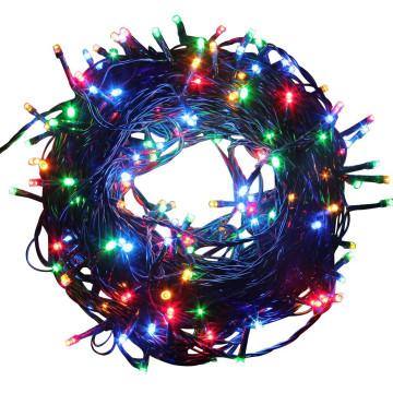 480 LED-es 51 méteres fényfüzér, színes