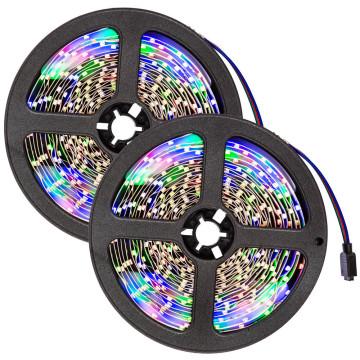 RGB5050 programozható LED szalag távirányítóval - ...