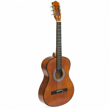 Akusztikus gitár szett kezdőknek, ajándék hangolóv...