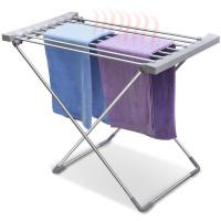 Elektromos ruhaszárító 8 db fűthető szárítórúddal, 120 W
