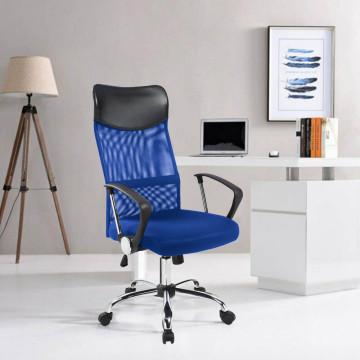 Ergonomikus irodai szék magasított háttámlával, ké...