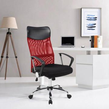 Ergonomikus irodai szék magasított háttámlával, pi...