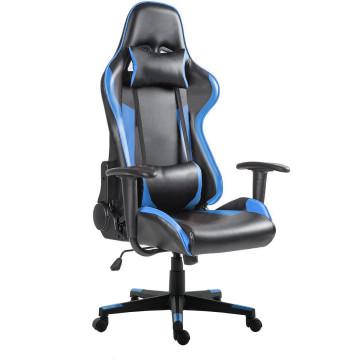 Gamer szék Pro, fekete-kék - ingyenes szállítás