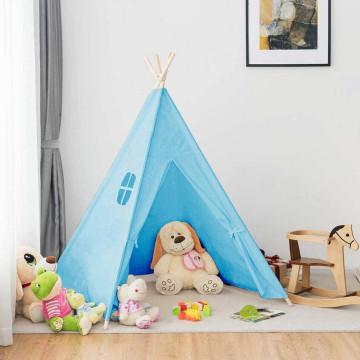 Indián sátor gyerekeknek, Kék színben