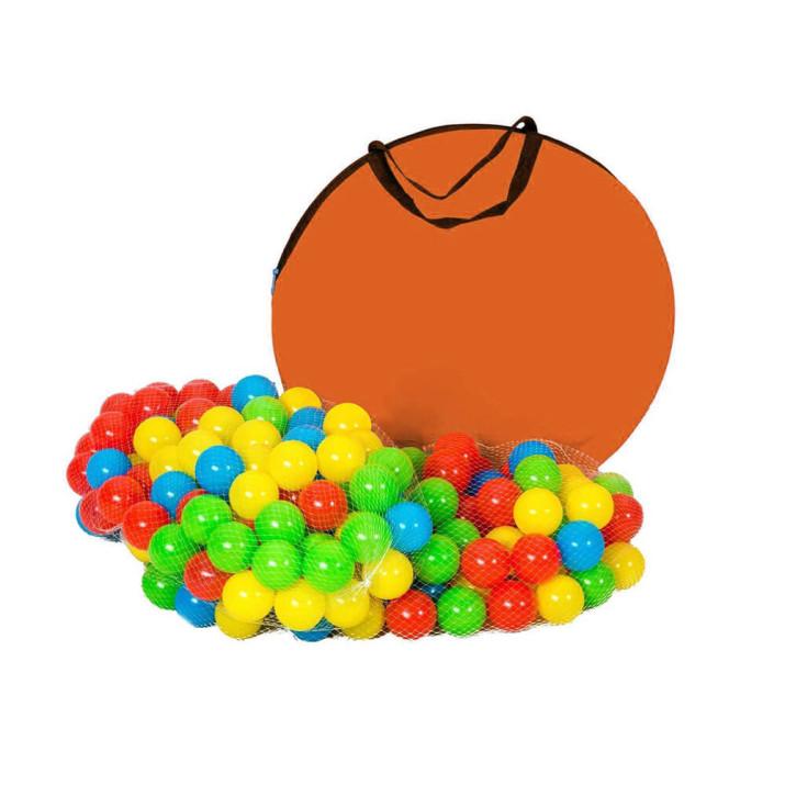 Játszósátor alagúttal, ajándék 200 db labdával