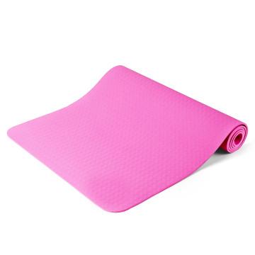 Jóga matrac, ajándék táskával, Rózsaszín