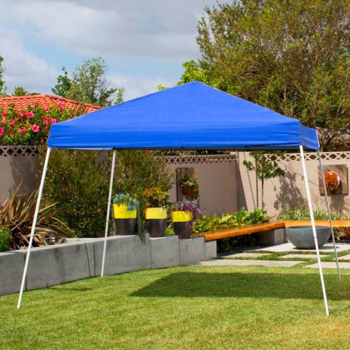 Összecsukható kerti pavilon 2,9x2,9m kék