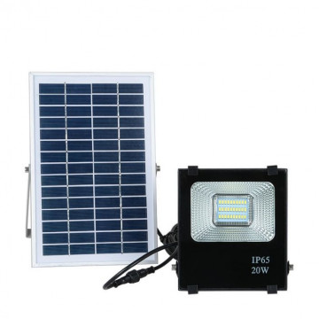 Napelem paneles LED reflektor , 20W