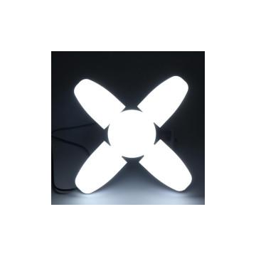 60W ventilátor formájú energiatakarékos lámpa / BX60 négyágú izzó