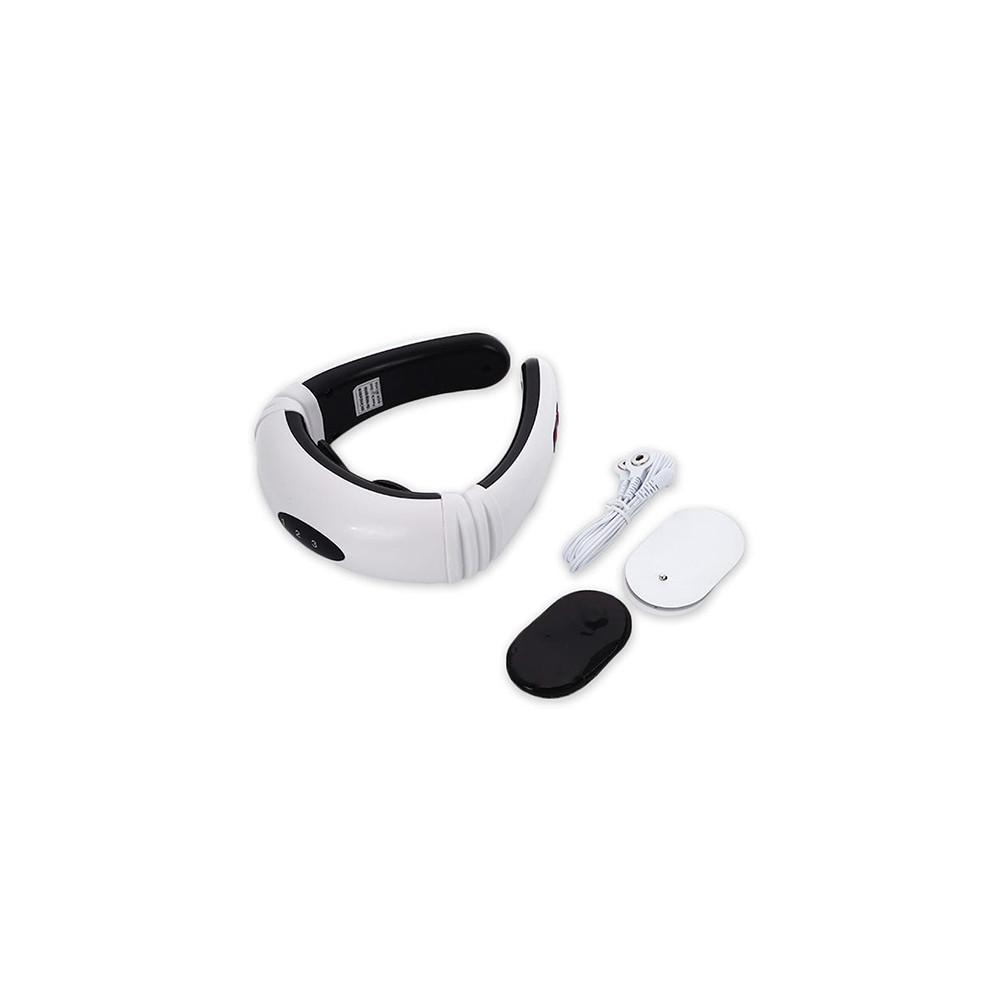 Vezeték nélküli mágneses, elektromos nyakmasszírozó és izomstimuláló készülék