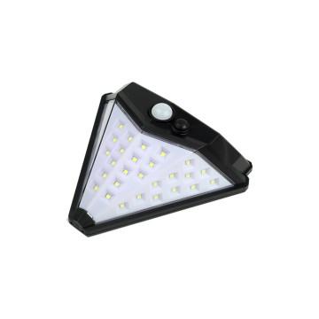 40 ledes solar fali lámpa mozgás- és fényérzékelővel