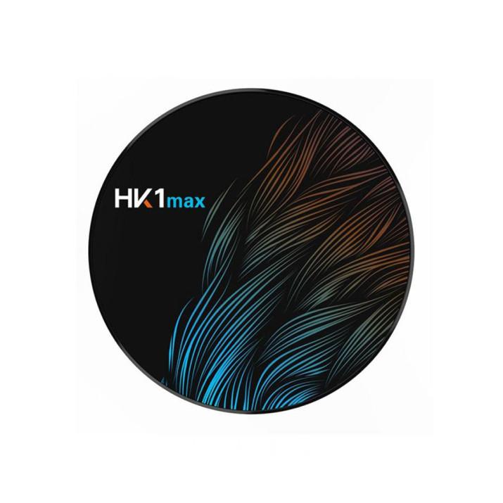 HK1 Max Android Smart TV Box - tv okosító / 4 GB RAM, 64 GB ROM, Quad-Core, Android 9.0, WiFi