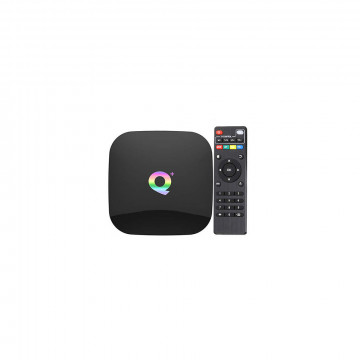 Q Plus Android Smart TV Box - tv okosító / 4 GB RAM, 64 GB ROM, Quad-Core, Android 9.0, WiFi