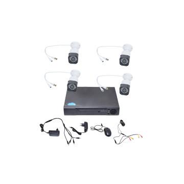 ECH DVR Combo Kit - 4 csatornás, digitális kamerar...