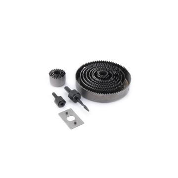 16 részes körkivágó készlet / lyukfúró, 19-127 mm