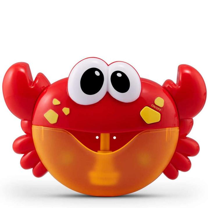 Rák alakú, buborékfújó játék fürdőkádba