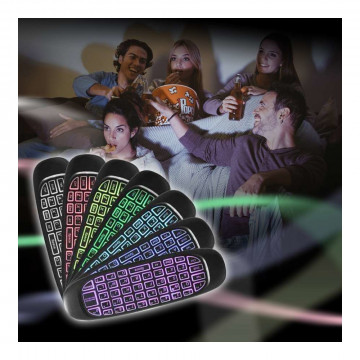 LED Air Mouse / Vezeték nélküli billentyűzet és gi...