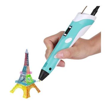 3D nyomtató toll, töltőanyaggal / 3D toll