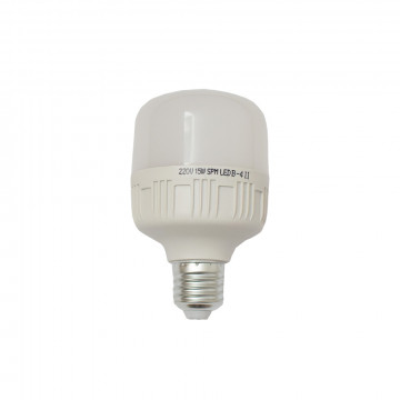 15W kukorica LED izzó / E27 - energiatakarékos, hideg fehér