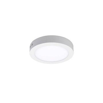 24W kerek, külső szerelésű LED panel - hideg fehér
