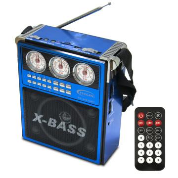 Hangszórós multimédia lejátszó, csillogó dizájnnal (YG-1051URT)