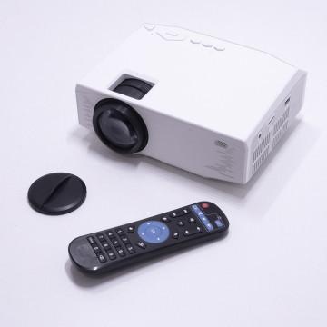 Androidos mini projektor / WiFi, USB, SD kártya, távirányító