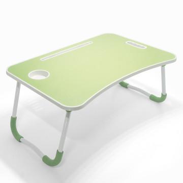 Multifunkciós kisasztal / gyerekeknek, munkához, étkezéshez – almazöld