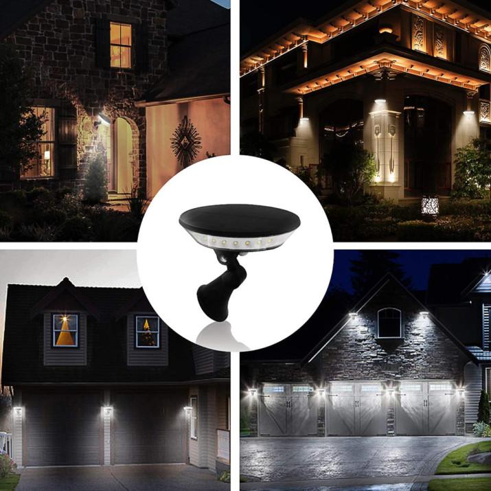 """""""Repülő csészealj"""" LED lámpa / Napelemes, mozgásérzékelős"""