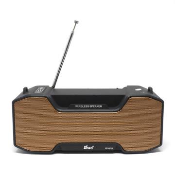 Napelemes, vezeték nélküli bluetooth hangszóró és FM rádió / hordozható / FP-92-S