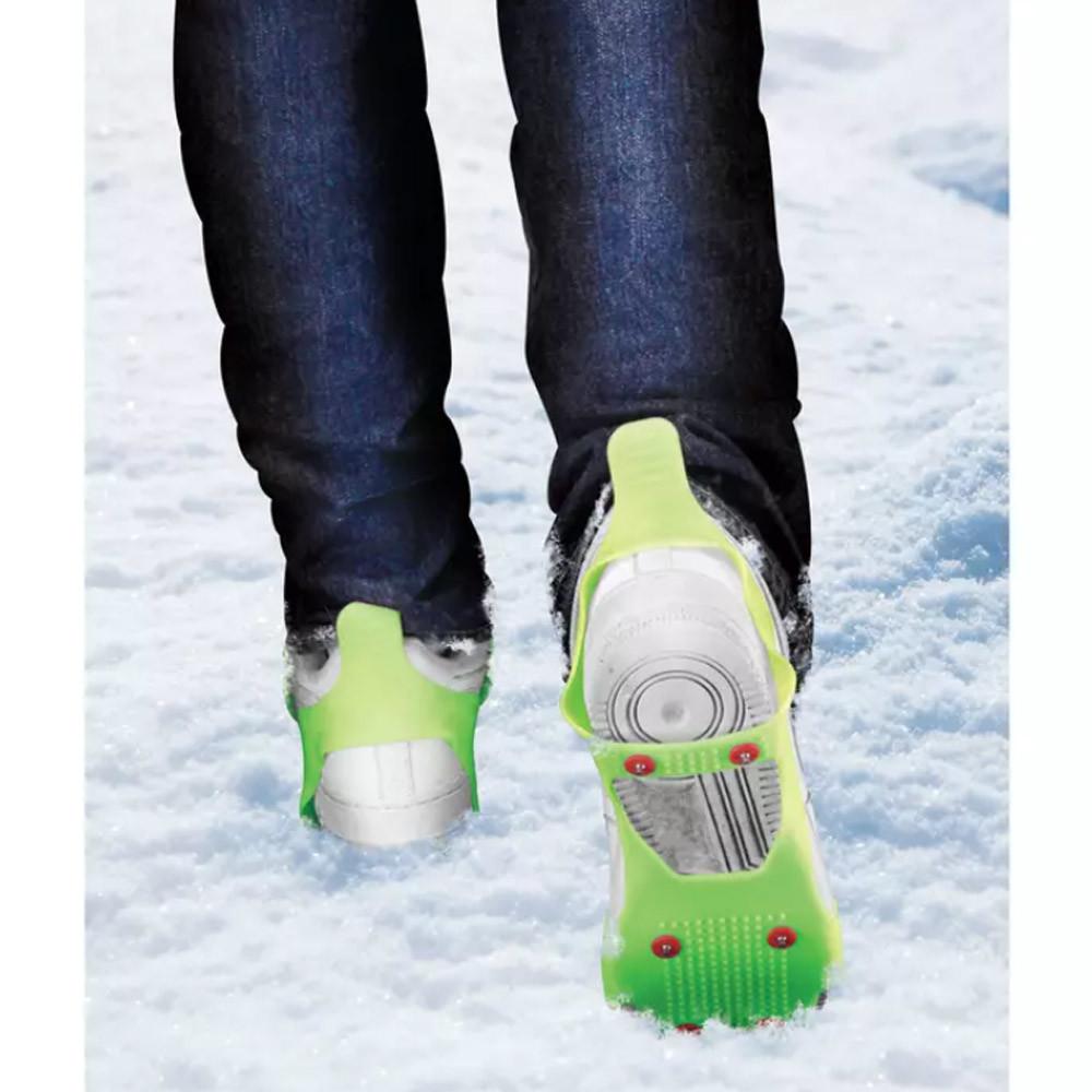 Jégjáró csúszásmentes gumitalp, bármilyen fajta cipőre – gyerek, női