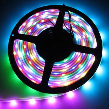 5050 RGB ledszalag, 5 méteres, színváltós - 54 led/méter (JSY-1250)