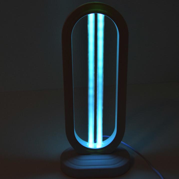Baktérium- és vírusölő ózonos UVC germicid lámpa távirányítóval 38W