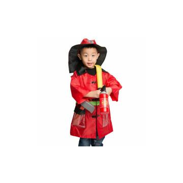 Tűzoltó farsangi jelmez gyermekeknek / M-es méret