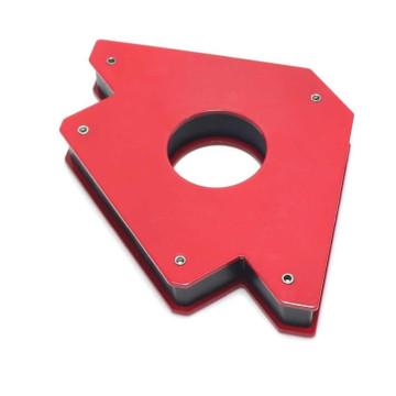 Mágneses derékszögtámasz / Munkadarabtartó hegesztéshez / 75 lb