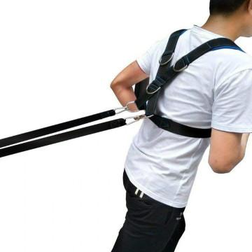CrossFit húzó hám, kültéri edzéshez / nehéz súly húzásához