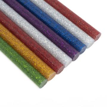 Ragasztópisztoly patron vékony 7,2x200 mm / színes-csillámos, 8db