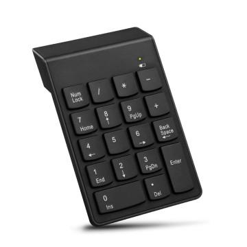 Mini vezeték nélküli numerikus billentyűzet