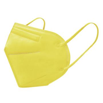 FFP2 légzésvédő egészségügyi arcmaszk (KN95) / sárga / 1 db