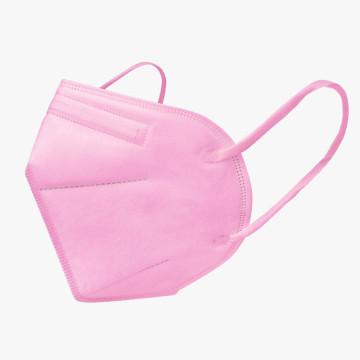 FFP2 légzésvédő egészségügyi arcmaszk (KN95) / rózsaszín / 10 db