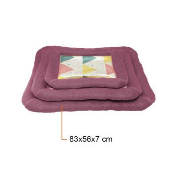 Kényelmes fekhely – kutyapárna / lila 83x56x7 cm