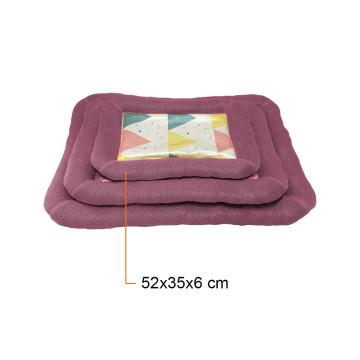 Kényelmes fekhely – kutyapárna / lila 52x35x6 cm