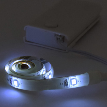Extra fényes 9 LED-es szalag, rugalmas és ultra vékony / 2 db LED szalag