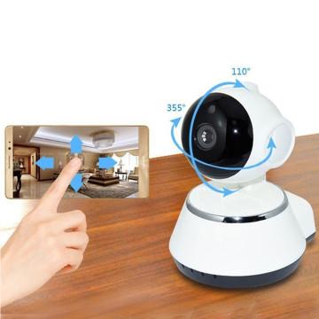 Wifi-s okoskamera, élő kameraképpel / fehér - biztonsági kamera (W380)