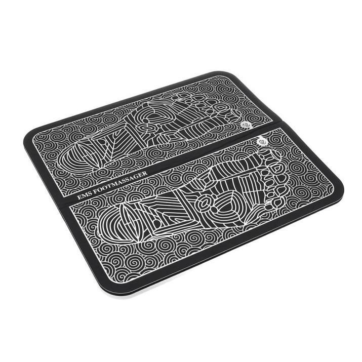 Elektromos talpmasszírozó szőnyeg – infravörös hő- és vibrációs masszázs / EMS / 6 móddal