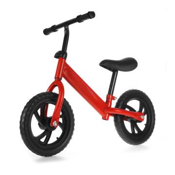 Kétkerekű futóbicikli / egyensúlyozó bicikli gyerekeknek - piros