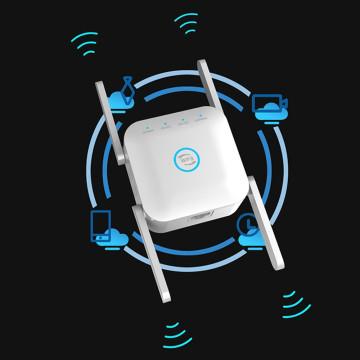 Dual Band WiFi jelerősítő – Wireless AC Repeater Pro / fehér (LV-AC24)