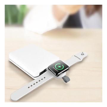 Hordozható mini iWatch töltő modul – mágneses tölt...